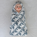 Good price custom muslin swaddle hood blanket