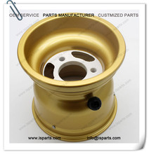"magnesium alloy golden 5""130mm-58mm rim for fun kart"