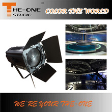 Top 15-50 degree studio projector zoom led fresnel light
