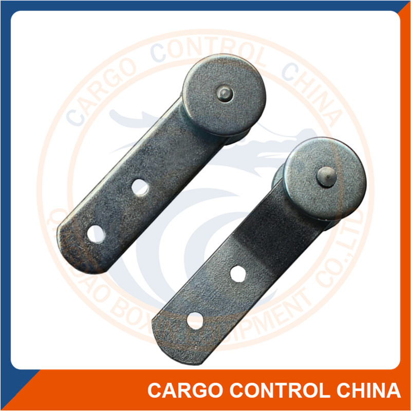 7150 Side curtain track roller trailer parts with steel wheel