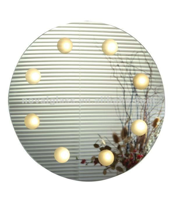 round bathroom mirror, 2-8mm round bathroom mirror, clear/colored bathroom/decorative/dressing table mirror with CE