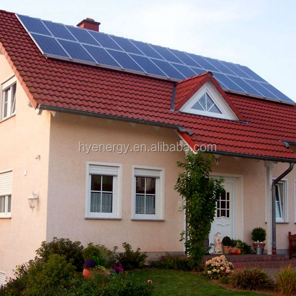HYE 1kw grid tied solar energy system for home