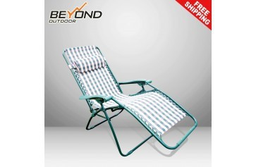 Portable Folding Reclining Chair Outdoor Lounge Pool Beach Camping Armchair New