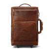 Carry On Genuine Leather Trolley Bag