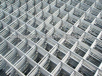 Hebei manufacturer low carbon steel wire 2x2 galvanized welded wire mesh for fence panel