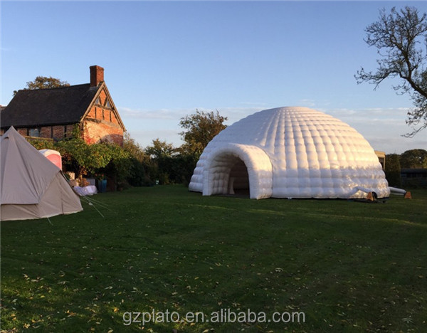 Giant wedding/event/party/concert inflatable igloo tent inflatable marquee tent for sale & Giant wedding/event/party/concert inflatable igloo tent inflatable ...