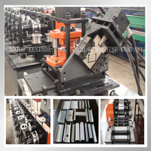 C channel ceiling roll forming machine, steel stud frame roll forming machine