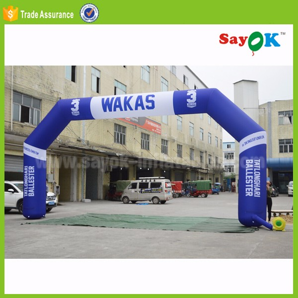 Custom made inflatable arch advertising giant archway for commercial