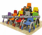 colorful plastic kids chair
