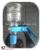 glass filter holder/laboratory glass holder/laboratory apparatus in glass