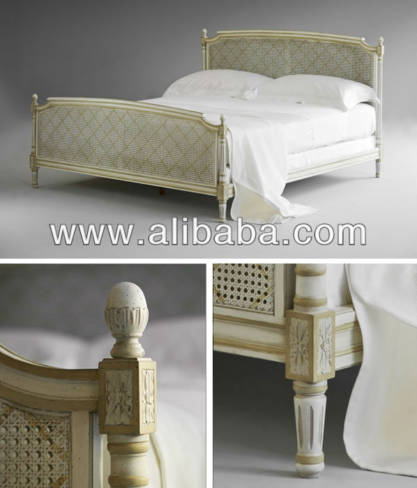 Louis XVI Caned - Bed