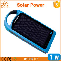 Factory private model waterproof 4000Mah solar power bank , solar panel battery charger
