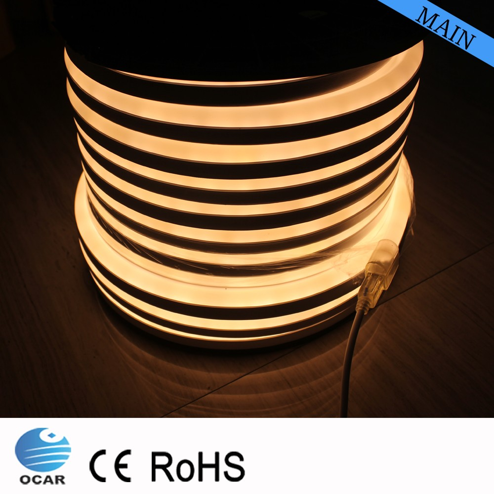 pvc plastic tube neon flex lights fixtures for office