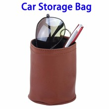 Amazon Hot Sales Portable Car Leather Storage Carrying Bag for Smartphones