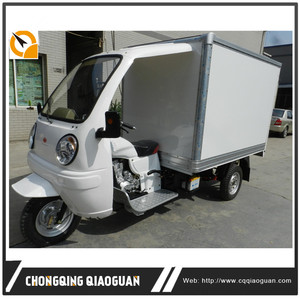 200cc Lifan Engine Three Wheel Refrigerator Truck/Refrigerator Cooling Box Cargo Food Tricycle from Chongqing OEM Factory
