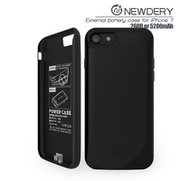 SMART POWER CASE FOR Iphone 7 battery case 2600MAH portable battery charger for iphone7 cover case for ip5s