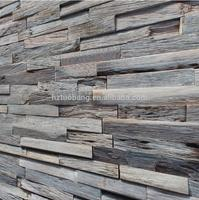 2018 Modern Indoor 3d Wood Wall Panel Timber Cladding Boarding