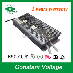 shipping from China 3 year warranty waterproof 120w 12V 24vdc 36 volt power supply led transformer