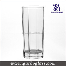 Eight square water glassware highball mix drinks glass tumbler long drinks glass cup
