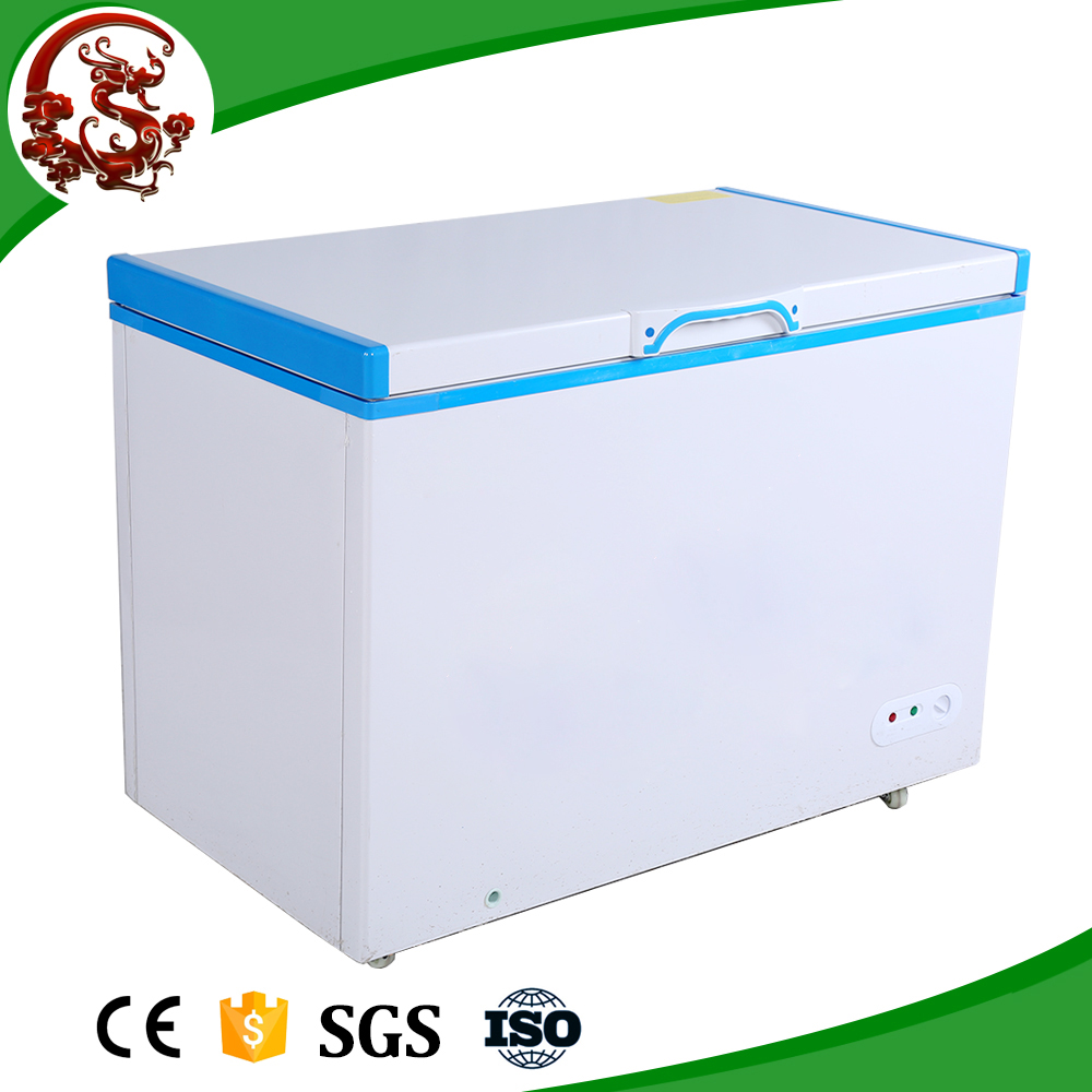 Wholesale top open chest freezer stainless steel
