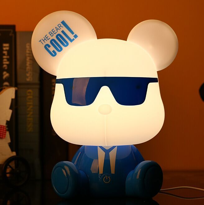 Cool Bear led Night light Three adjustable Touch Switch Eye lamp student white collar reading Bedside lamp <strong>D15</strong>