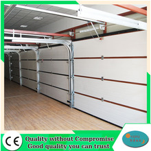 Automatic garage doors with high density PU foam insulation