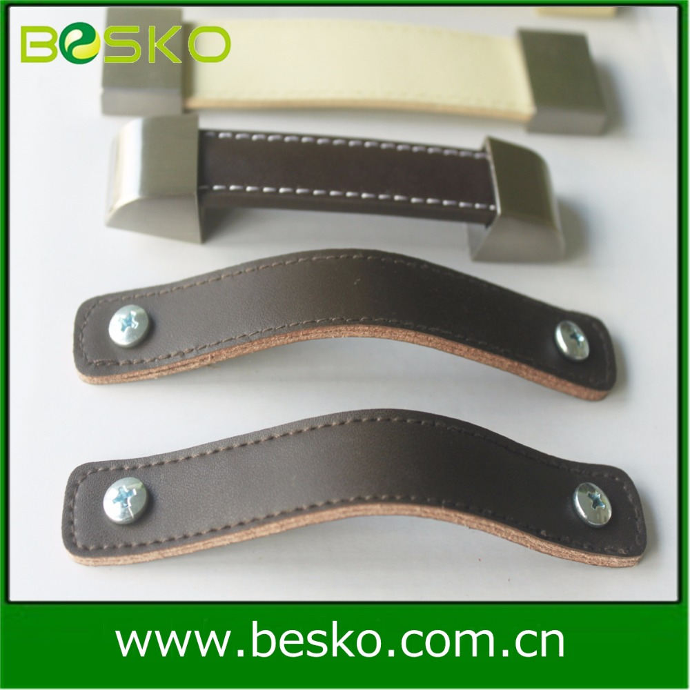 wholesale professional supplier genuine leather handles for bags