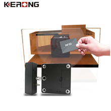 Gun safety cabinet electronic lock key card lock