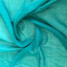 Combed Yarn Type and Plain Style 100%Cotton Voile for scarf