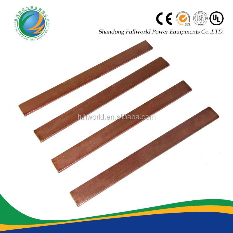 Used for underground rod copper flat steel
