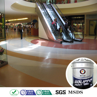 Thick film easy maintenance aging resistant floor paint