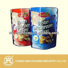 Sterilized heat cooking retort pouch for oyster mushroom crisp food packaging