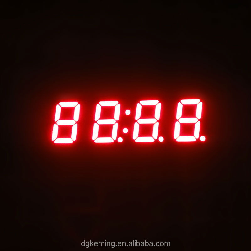 0.4 inch clock led display 7 segment numeric led display 4 digits