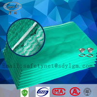 construction safety net fall protection debris netting installation mesh netting
