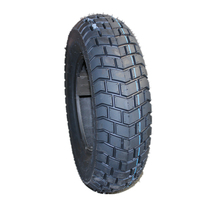 factory produced 120/90-10 scooter motorcycle tire with popular pattern