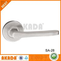 SS tube Chrome room lever door handle