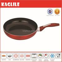 Modern kitchen use forged aluminium metallic coating cookware frying pan