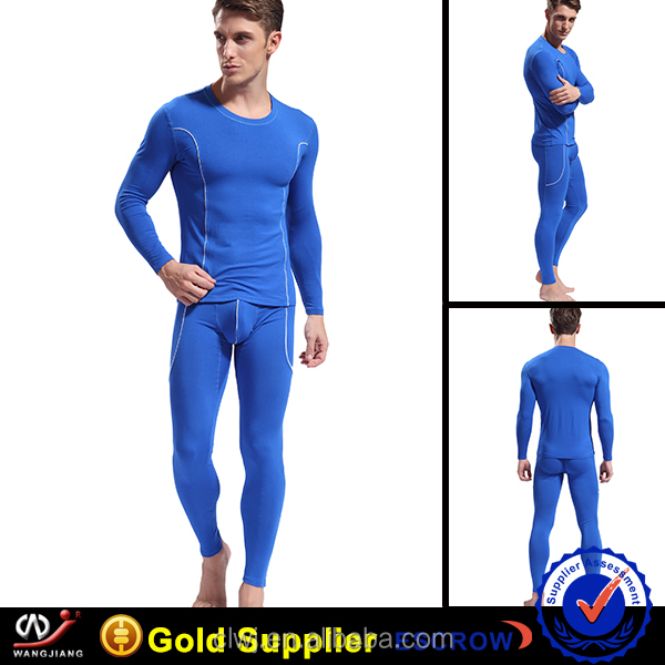 Long Sleeve Thermal Underwear comfortable and Breathable, OEM Orders are Welcome