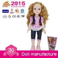 2015 Best Toys for 2016 Christmas Gift Apricot Doll