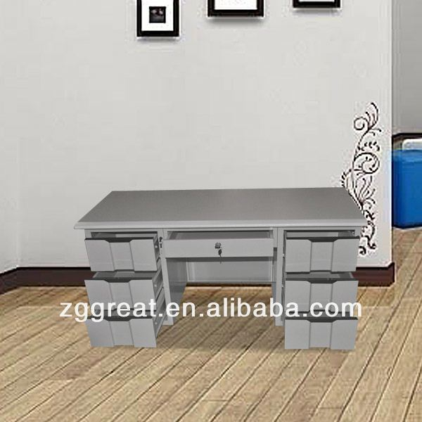 Steel Cheap Multifunctional school furniture office desk for teachers/modern steel office desk