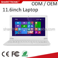 2016 best selling laptop in 11.6 inch with intel baytrail/cherrytrail
