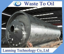 HOT SALE LN-2800 new tech waste tyre to oil pyrolysis plant with TUV Certificate