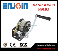 Manufacturer 600lbs small towing tractor car powder coated winch with CE SGS