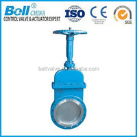 Carbon steel knife gate valve size / Parallel slide valves