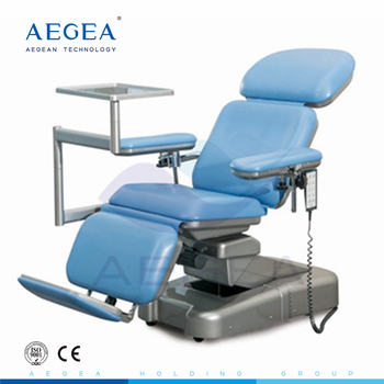 AG-XD107 manual adjustable hospital electric phlebotomy chairs for sale