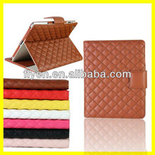 2013 New Fashion Luxury Advance Leather Belt Clip Case for iPad mini Case Stand With Card Slot Manufacturer Wholesale
