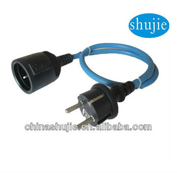 Extension cord ,France Extension Cord ,IP44 Extension cord