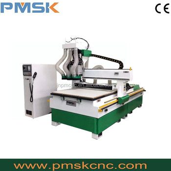 Doors cabinets making wood cnc router machine, 5d cnc router sale in turkey,1325 cnc machine with three spindles