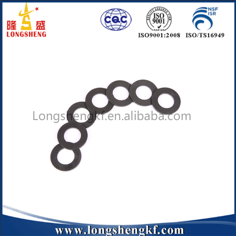 Black Colored Rubber Grommets Eyelet
