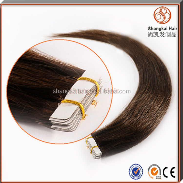 Wholesale Cheap 100% One Donor Brazilian Virgin Remy Hair Tape Hair Extensions